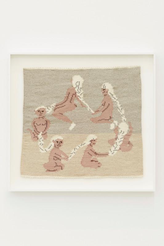 ARNA ÓTTARSDÓTTIR, Circle of Life (Six Ladies Braiding Each Others Hair), 2011