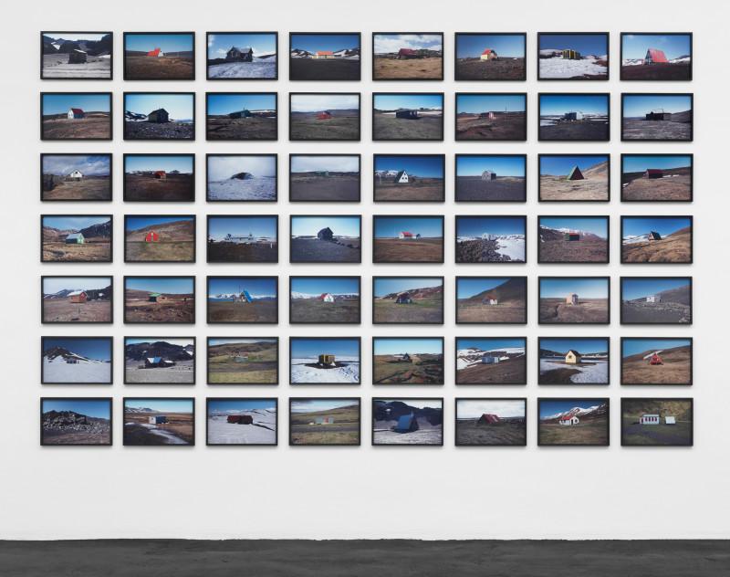 ÓLAFUR ELÍASSON, The hut series, 2012