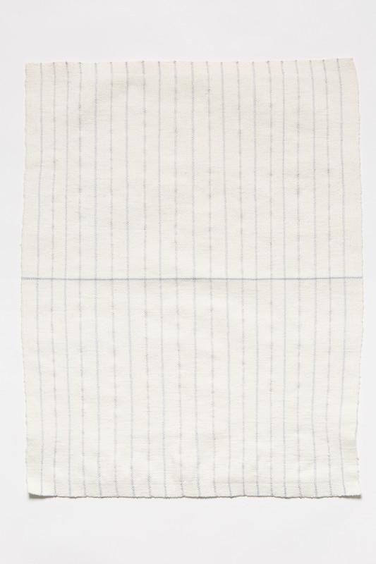 ARNA ÓTTARSDÓTTIR, Dish Towel (for Agnes Martin), 2012