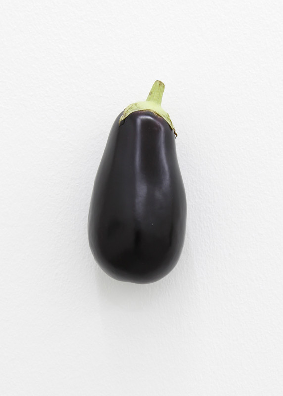KARIN SANDER, Eggplant (Kitchen Pieces), 2011 / 2016