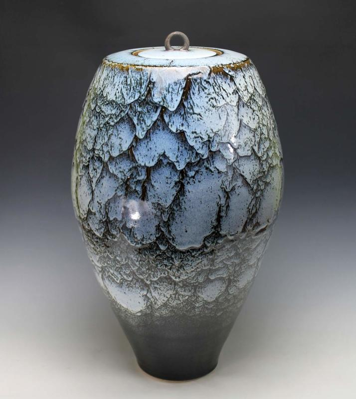 Peter Sparrey, Lidded Vase
