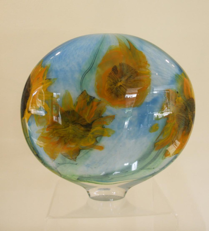 Peter Layton, Sunflower - large wide stoneform