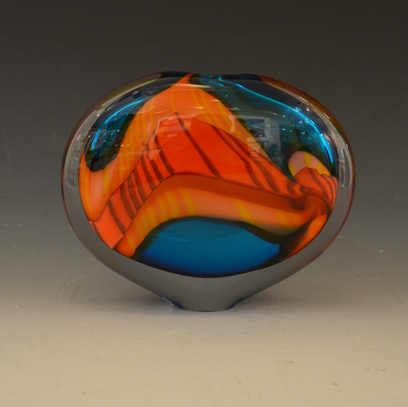 Peter Layton, Turquoise Paradiso med. wide stoneform