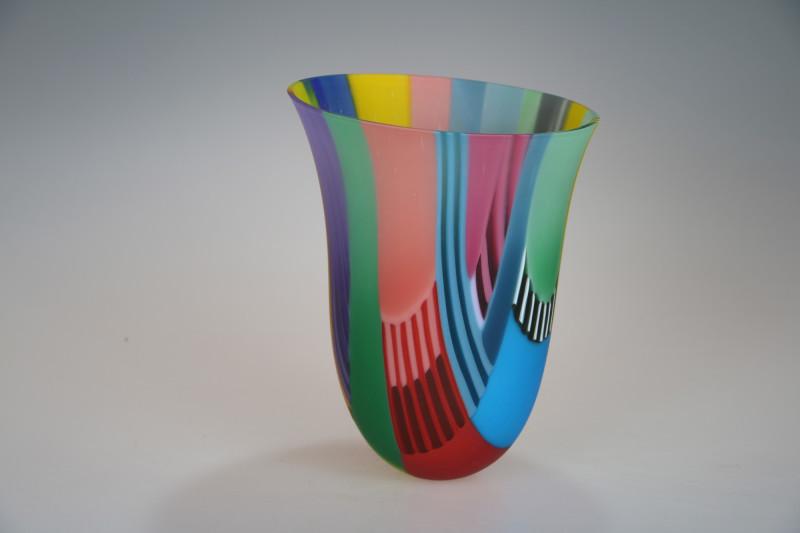 Ruth Shelley, Indian Intarsia Vessel medium