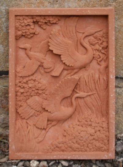 Michael Grevatte, Flying birds relief