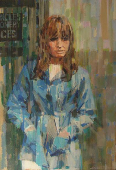 Dexter Brown, Suzy Kendall - portrait