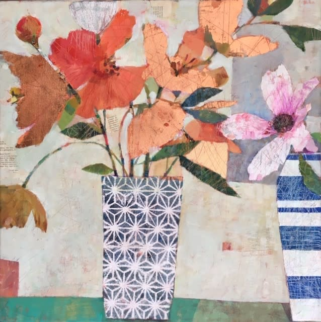 Sally Anne Fitter, Peaceful Sunday flowers