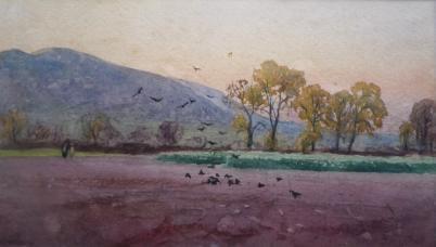 A P Collis, Spring Evening, Malvern