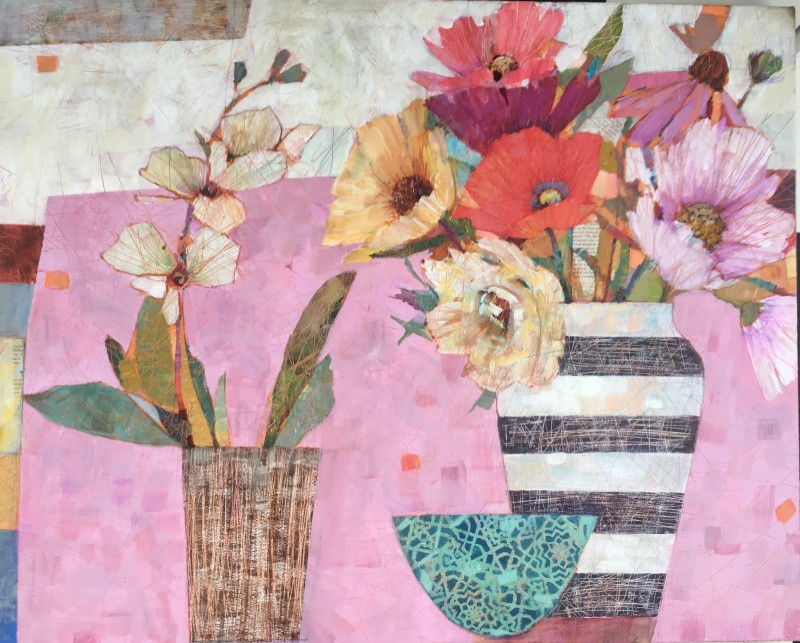 Sally Anne Fitter, Orchid & late summer flowers