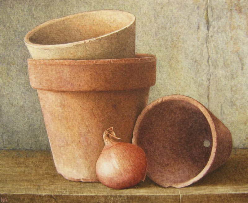 Nigel Ashcroft, Terracotta pots