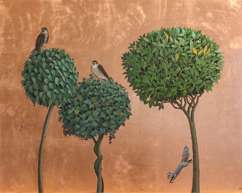 Marcelle Milo Gray, Two merlins