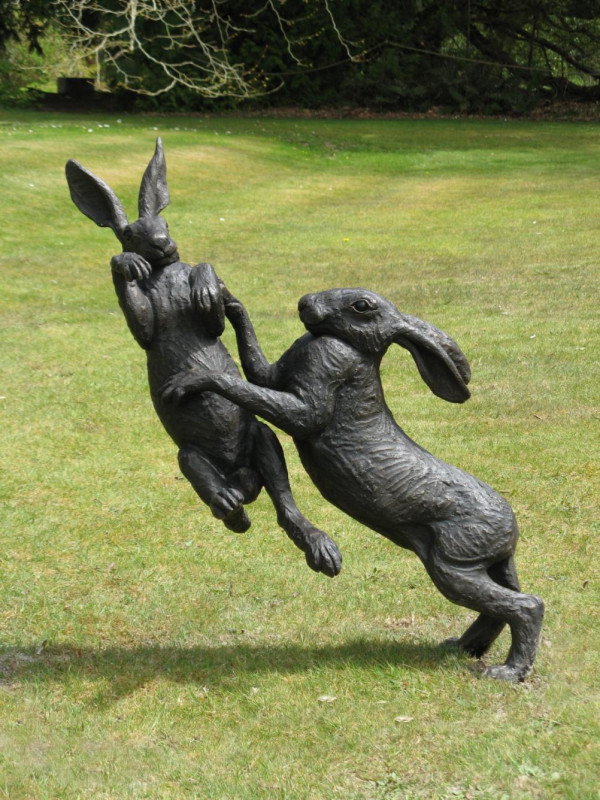 Suzie Marsh ARBS, Large boxing hares 5/25