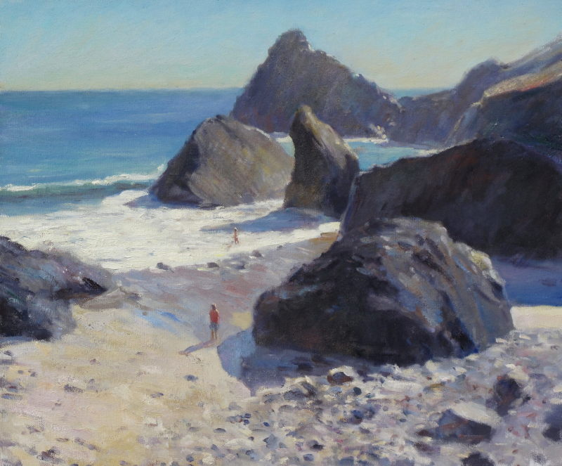 Edward Noott RBSA, Kynance cove,