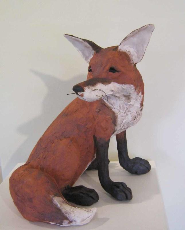 Chris Cummings, Large fox sitting
