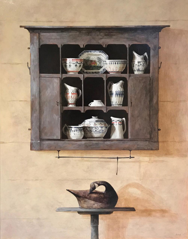Ron Bone, Painted pieces 1996