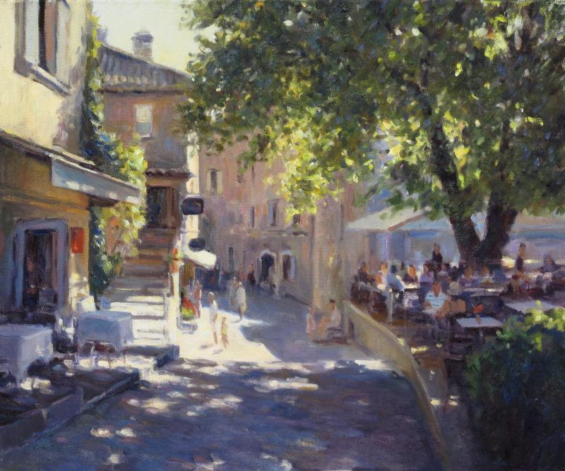 Edward Noott RBSA, Le Tilluel, St Paul de Venice