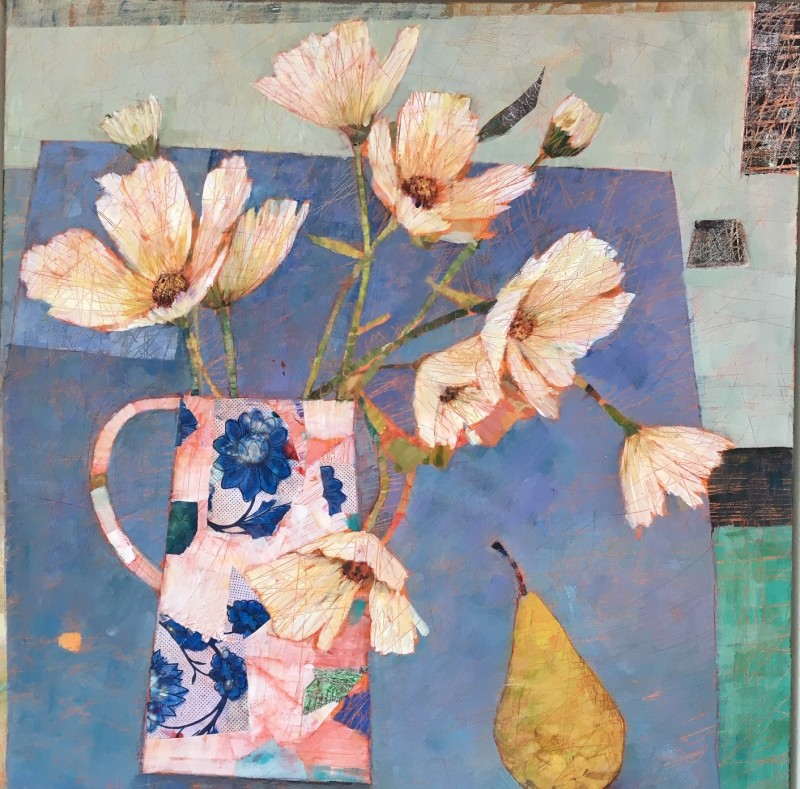 Sally Anne Fitter, Blue table