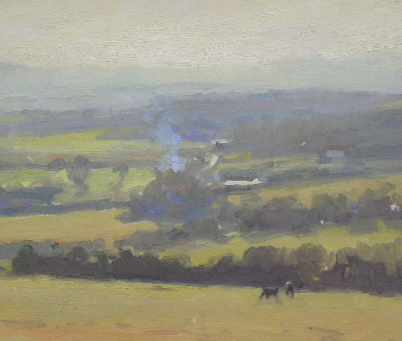 Edward Noott RBSA, Herefordshire morning