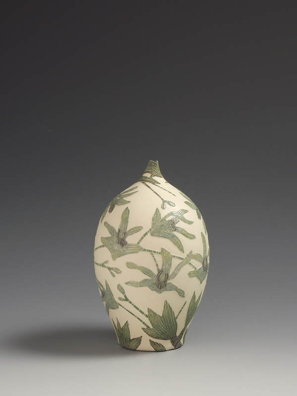 Tiffany Scull, Antelope Orchid vessel