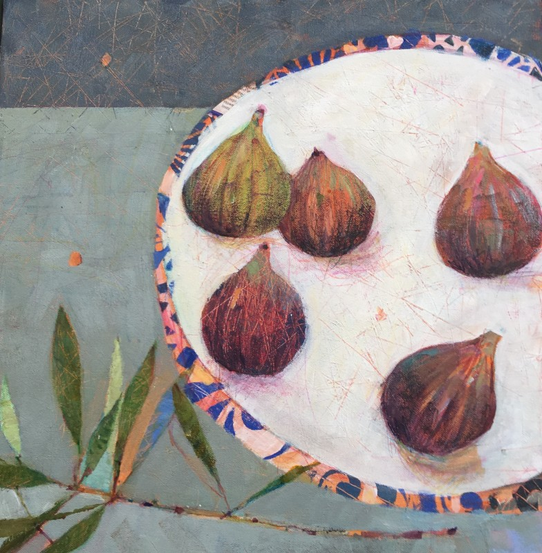 Sally Anne Fitter, Olive branch & a few figs