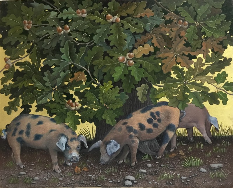 Marcelle Milo Gray, Pigs in the country