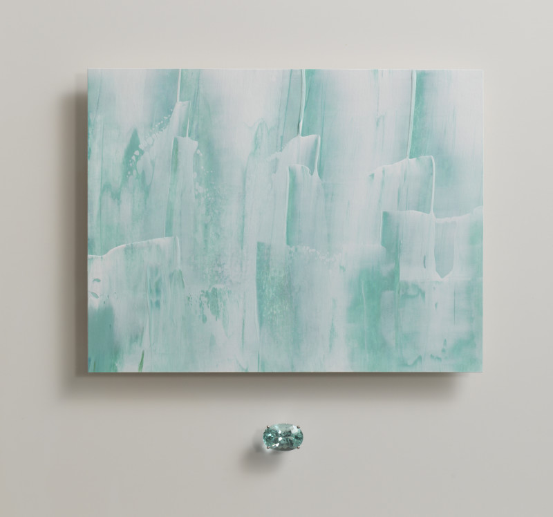 Lisa Sharpe & Doris Hangartner, Essence of Green Beryl, Icebergs