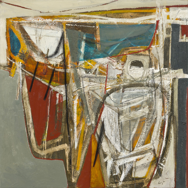 Leigh Davis, The Quay at Low Tide, Newlyn, No 2