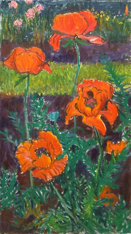 Frederick Gore, Garden Poppies