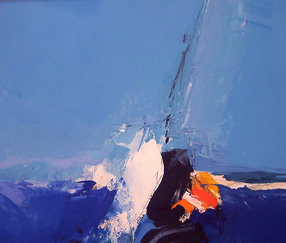 Donald Hamilton Fraser, Blue Seascape