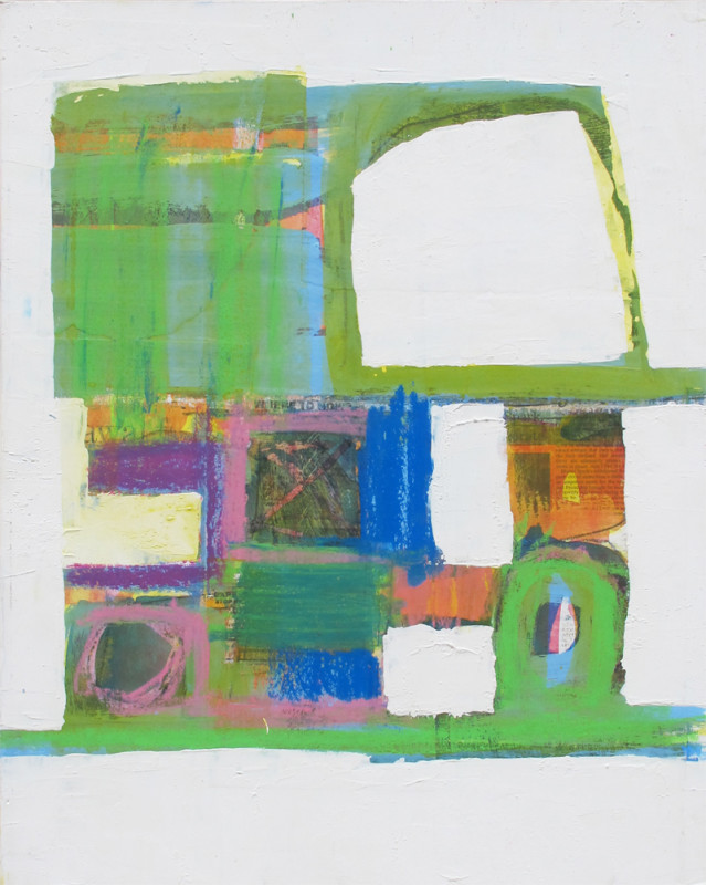 James Hull, Composition Green and Blue