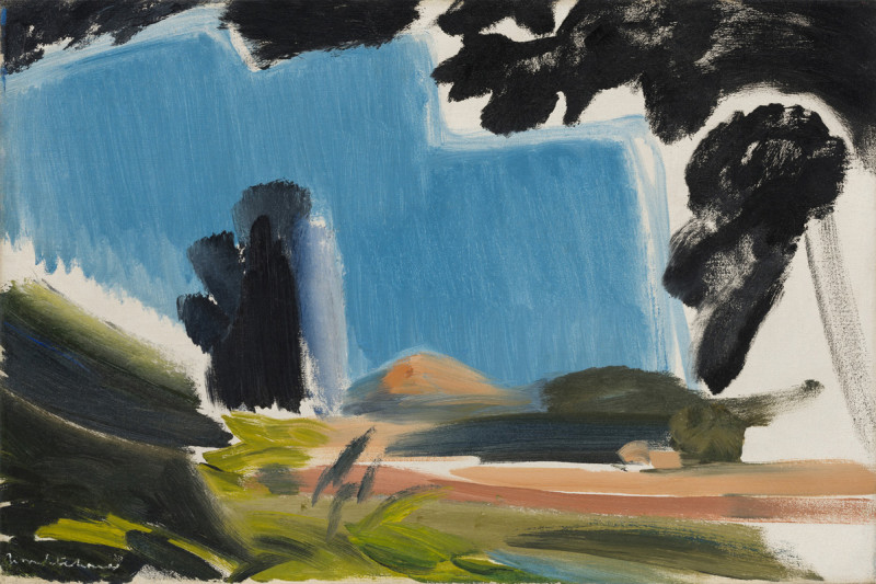 Ivon Hitchens, Summer Sky & Fields, 1954