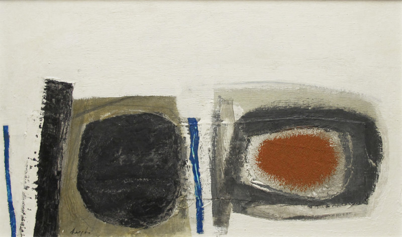 Leigh Davis, Blue, Grey and Orange, St Mary's