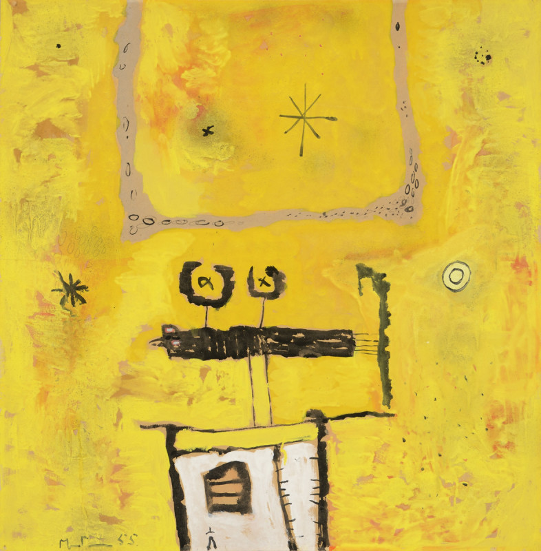 Martin Bradley, Yellow Composition