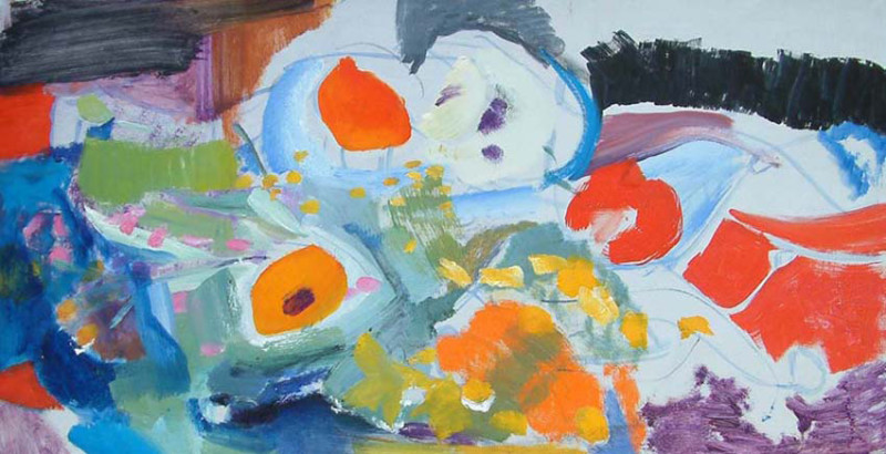 Ivon Hitchens, Poppy Summer