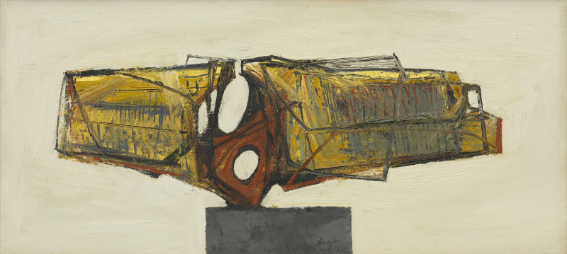 Leigh Davis, Paint Study for a Sculpture No 2