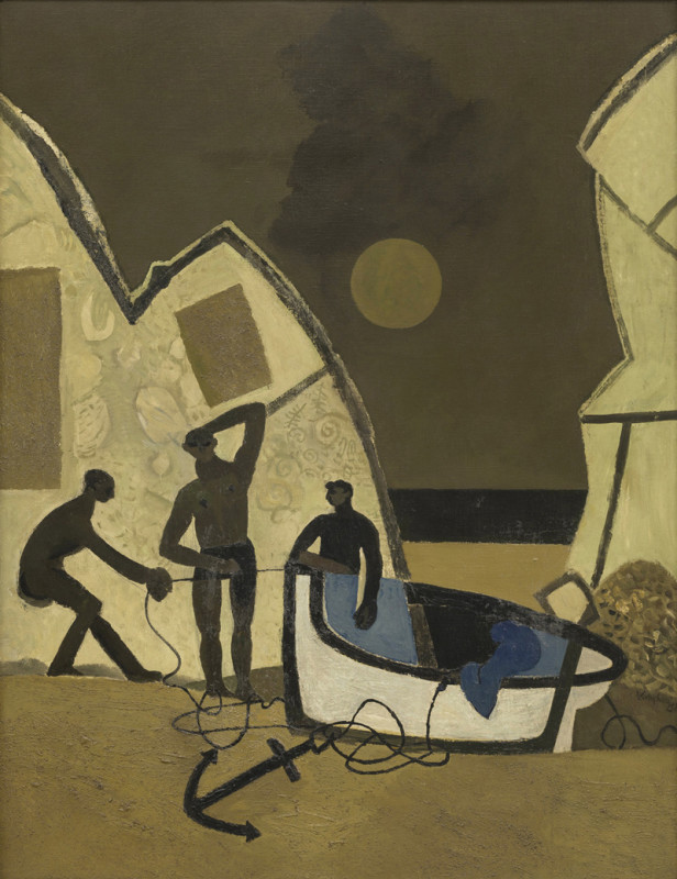 Keith Vaughan, Finistère Group of Fishermen
