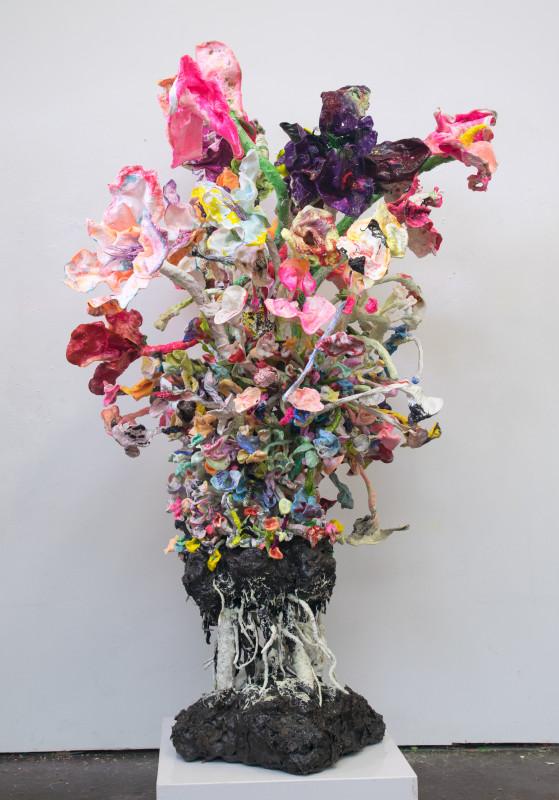 Stefan Gross, Stranger Flowers - VII, 2019