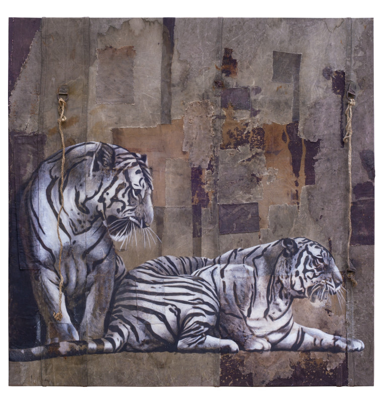 Luca Pignatelli, Two Tigers, 2013