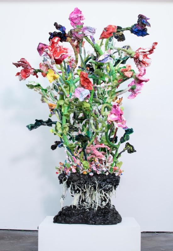 Stefan Gross, Stranger Flowers - VI, 2018