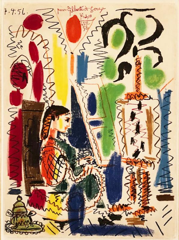 Pablo Picasso, The Cannes Studio