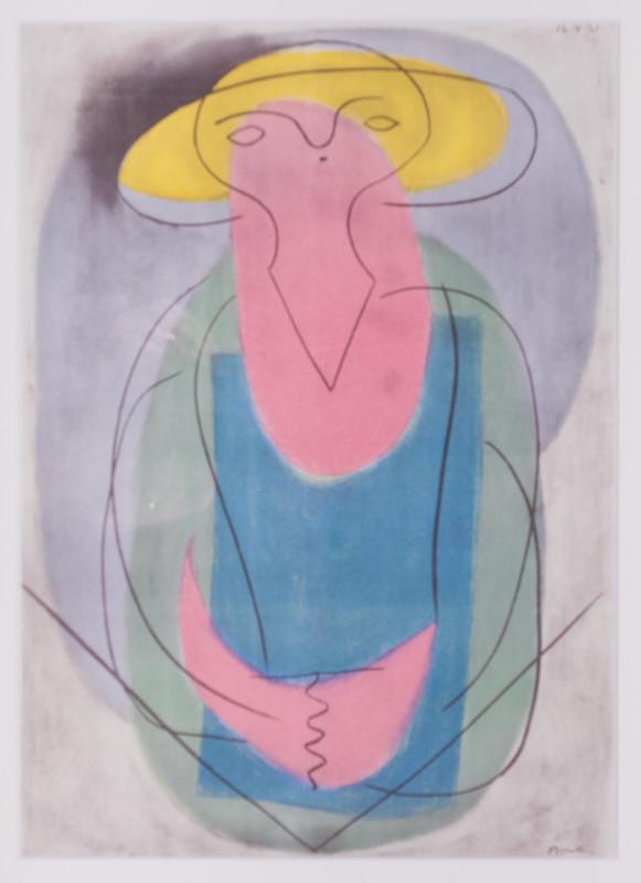 Pablo Picasso, Portrait of a lady, 1921