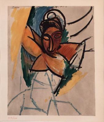 Pablo Picasso, Woman, 1906/07