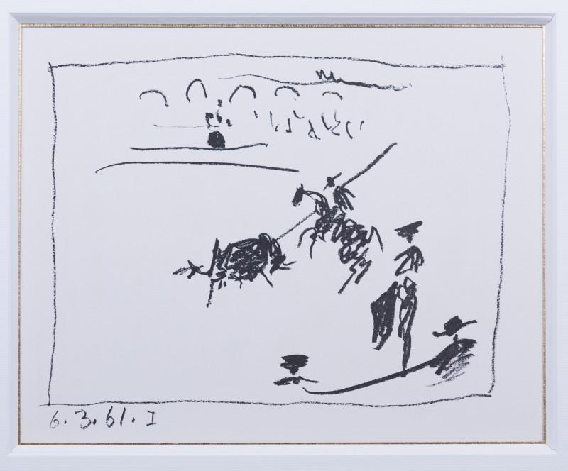 Pablo Picasso, The picador's pike, 1961