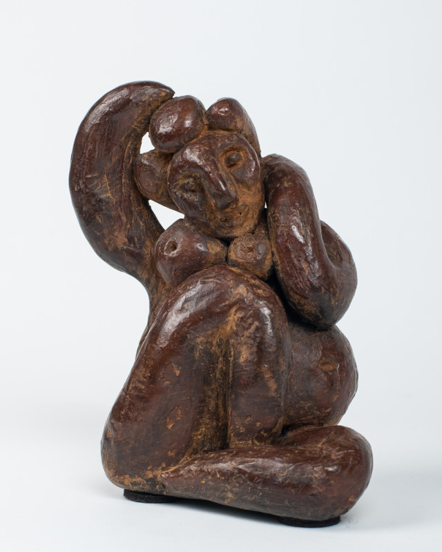 Erik Renssen, Sitting nude, 2014