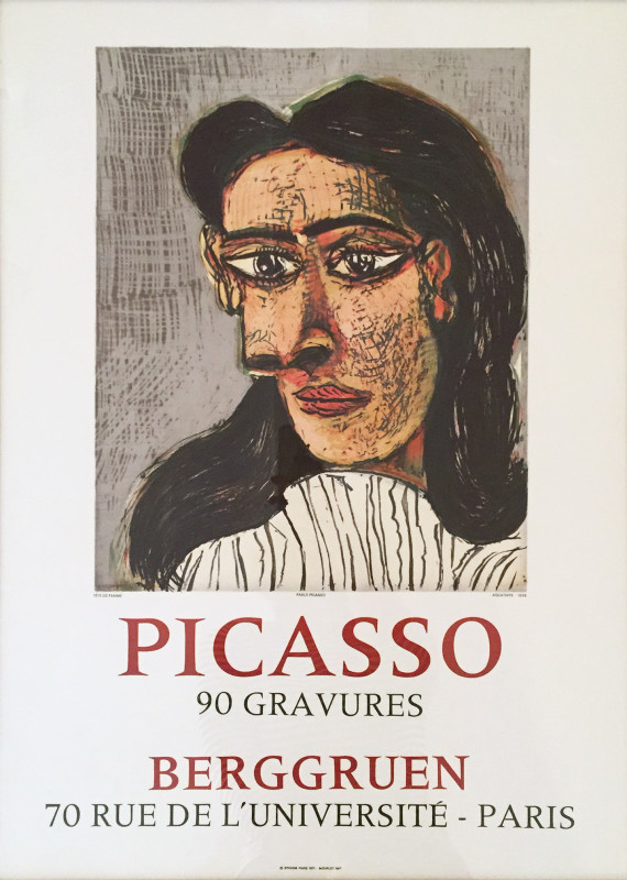 Pablo Picasso, Head of a Woman, 1971