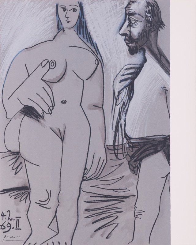 Pablo Picasso, Painter and model