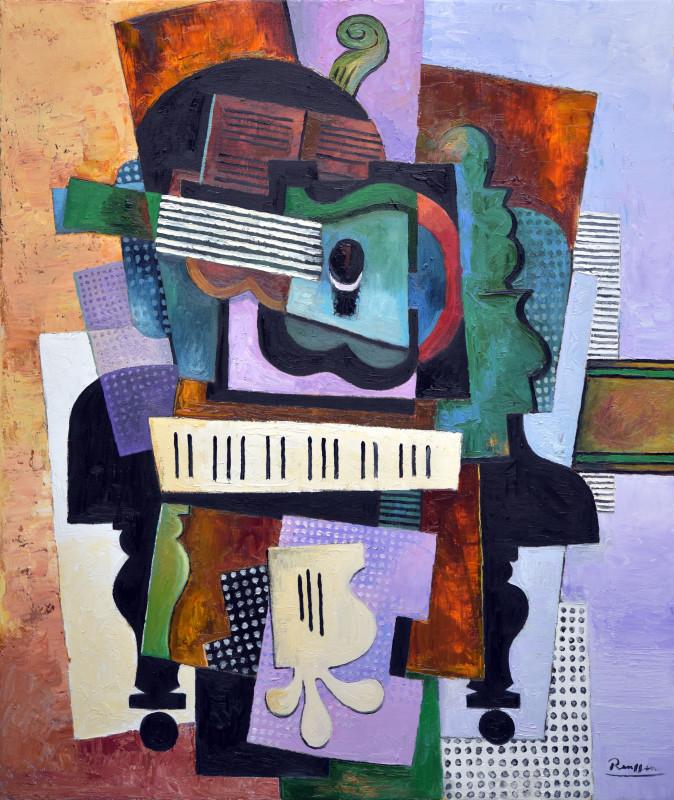 Erik Renssen, Instruments on a piano, 2019