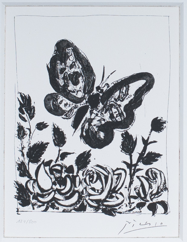 Pablo Picasso, Butterfly, 1972