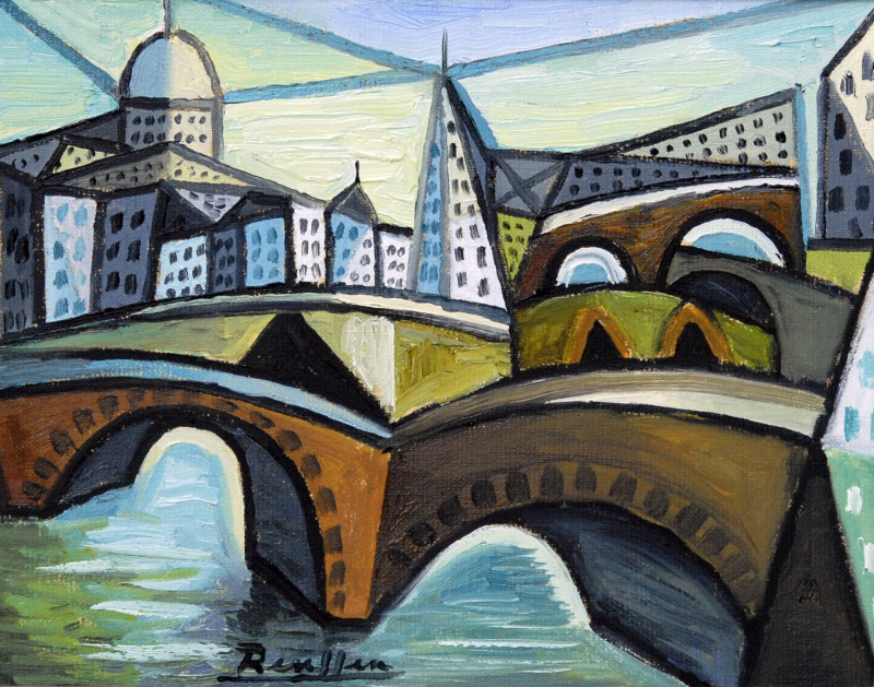 Erik Renssen, Bridges, 2018