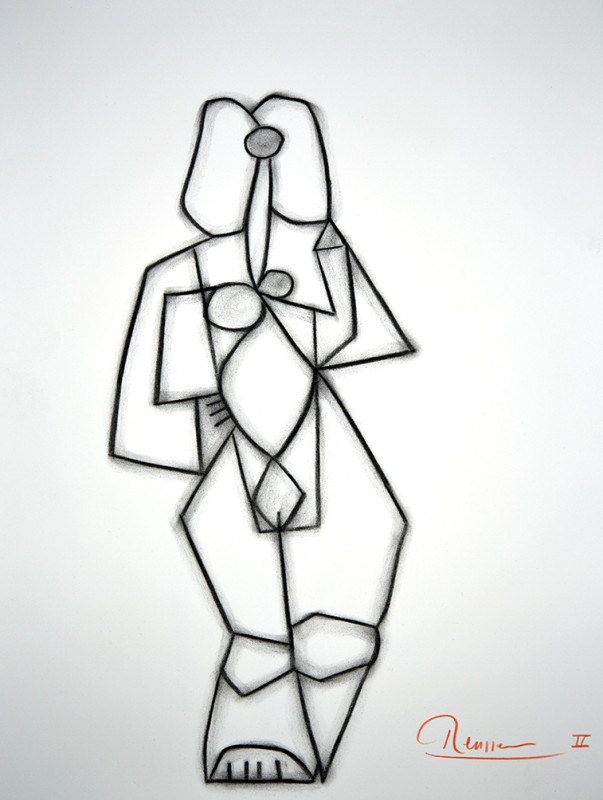 Erik Renssen, Figure II, 2019
